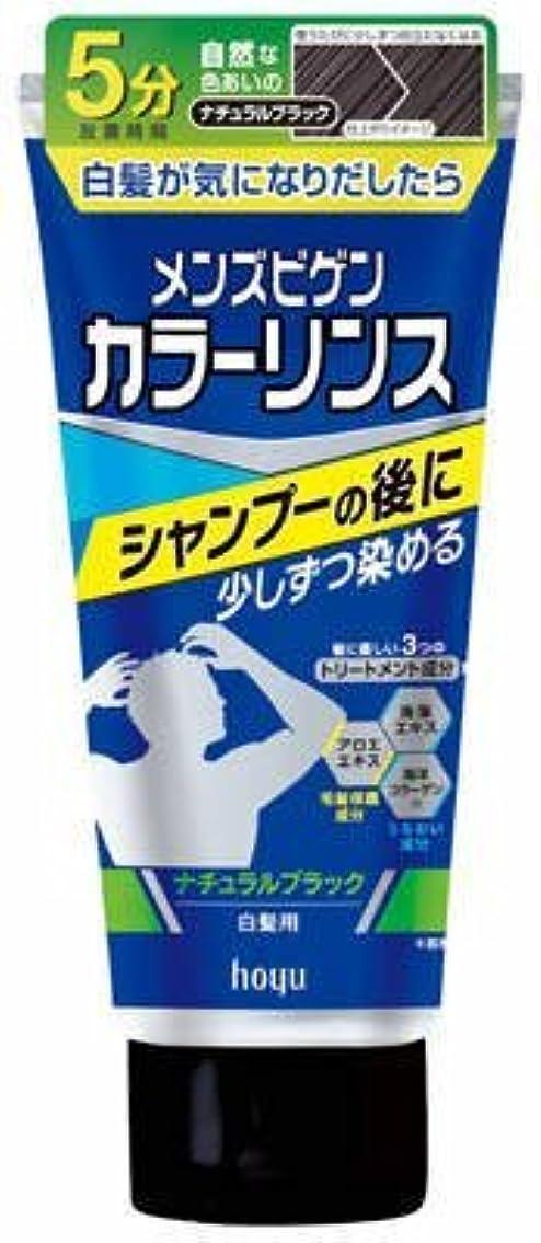 取り壊す小康おもちゃメンズビゲン カラーリンス ナチュラルブラック × 5個セット