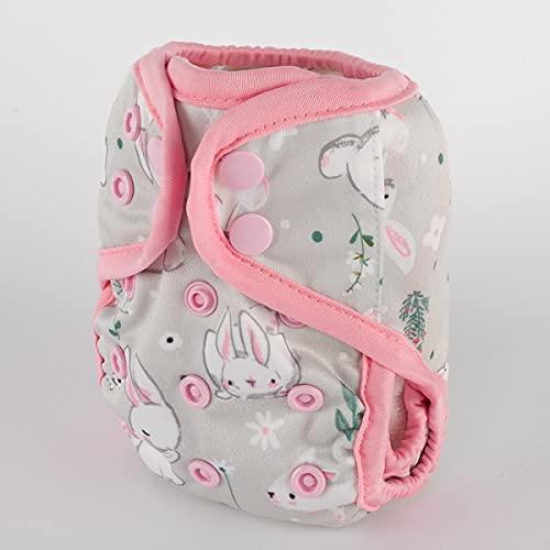 Sigzagor Newborn Baby Diaper Nappy Cover 8lbs-10lbs (Hot Air Balloon)