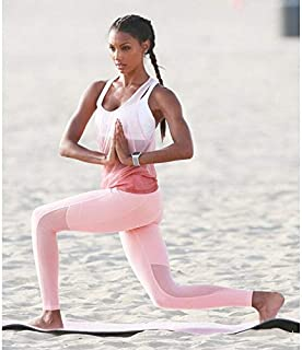 BEESCLOVER 3Piece/Set Pink Yoga Sets Women Gym Clothes Breathable Women Sport Bra Set Mesh Vest Leggings Yoga Suit YS023