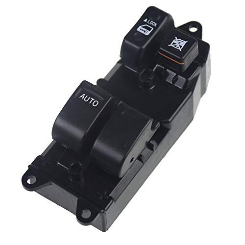 KUANGQIANWEI Botonera elevalunas Interruptor de la Ventana eléctrica Adecuada para Toyota Corolla E11 1997-2002 84820-12361 84820 12361 8482012361