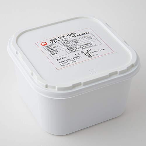 さっぱり すっきり食感! 新潟県出雲崎『良寛さん生誕の地』から直送! 良寛生乳100% プレーンヨーグルト 1kg