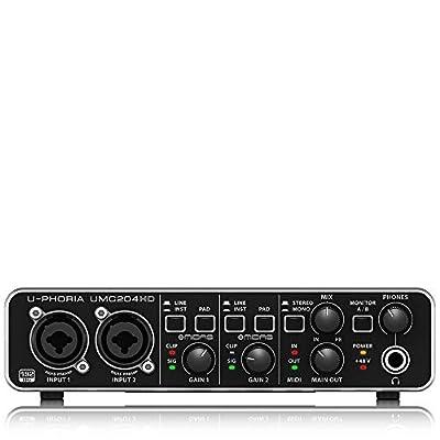 Behringer U-PHORIA UMC204HD Audio Interface