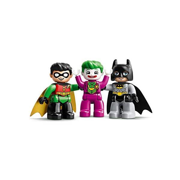 DUPLO Super Heroes DUPLO DC Comics BatmanBatcuevaconBatmóvilyJOKERCoche de Juguete para Niños Pequeñosa partir de2Años, multicolor (Lego ES 10919) 6