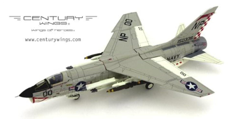 超越する不公平バイナリセンチュリーウイングス 1/72 F-8E CRUSADER U.S.NAVY VF-211 FIGHTING CHECKMATES NP00 1967 (クルーセイダー チェックメイツ) NO.601468 絶版