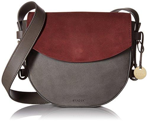 Skagen Damen Umhängetasche, Handtasche, Zinnfarben, Einheitsgröße