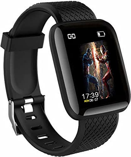 SHOPTOSHOP Smart Band Fitness Tracker Watch Heart Rate with Activity Tracker Steps Counter Heart Rate Monitor 1.3 Inch Screen