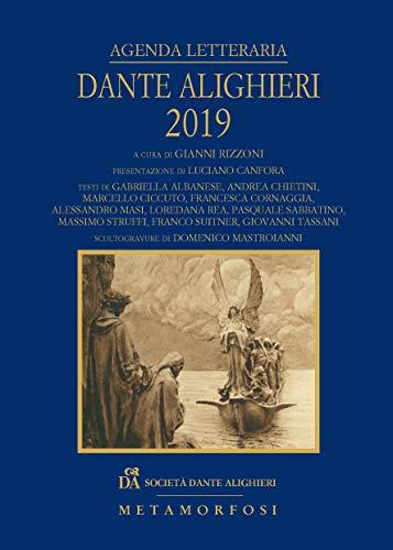 Agenda letteraria Dante Alighieri 2019