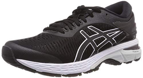 Asics Gel-Kayano 25, Zapatillas de Running para Mujer, Negro (Black/Glacier Grey 003), 38 EU