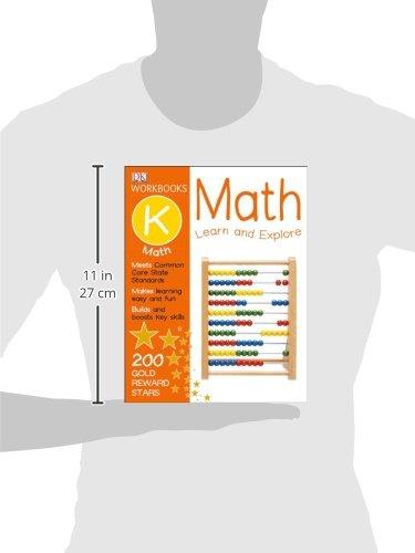 『DK Workbooks: Math, Kindergarten: Learn and Explore』の7枚目の画像
