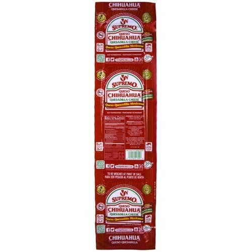 VV Supremo Queso Chihuahua Cheese, 10 Pound -- 4 per case.