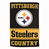 Master Industries Pittsburgh Steelers Sublimated Cotton Towel-...