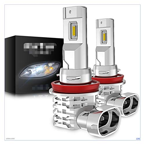SUNYANG Summer Solstice 2 unids H8 Fog Luces H11 9006 H7 9005 H4 Ajuste para Toyota C-HR Corolla RAV4 Yaris Avensis Camry Chr Auris LED Luz para Bombilla de lámpara de Coche (Socket Type : H11)