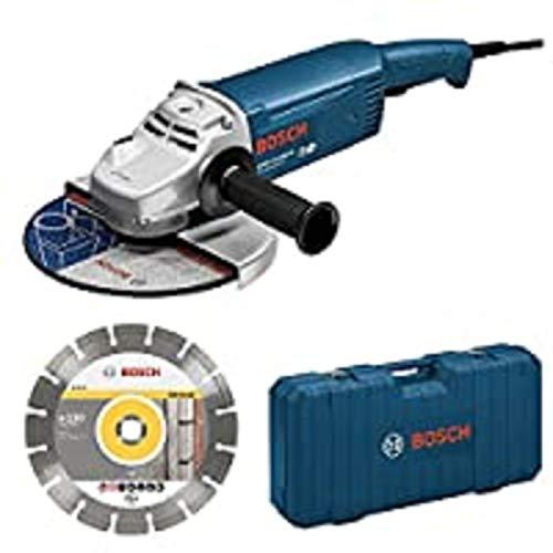 Bosch GWS 22–230JH Ace Professional–Winkelschleifer 2200W 230mm mit Trennscheibe und Koffer (0615990dd6)