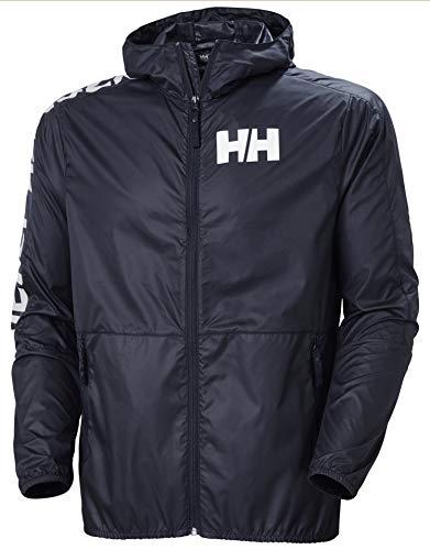 Helly Hansen Active Wind Jacket Cortavientos, Hombre, Azul (Navy), XL