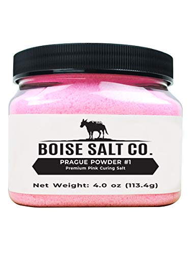 Boise Salt Co. Prague Powder #1 Premium Pink Curing Salt...