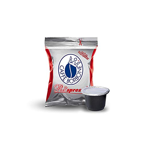Caffè Borbone - 400 cápsulas Café Borbone Respresso, mezcla roja, compatibles con Nespresso