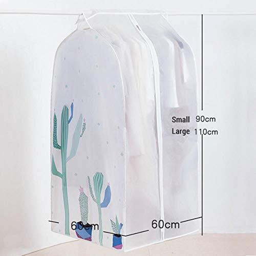 VWCDO Doorschijnende Cover Stof/vochtbestendige Case voor Kleding shirt Jas Jas Opslag Bescherming Hangende Tas