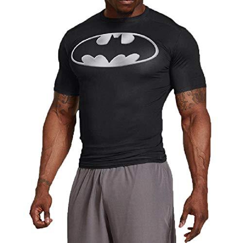Bat t Shirt Short Sleeve Casual and Sports Compression Shirt