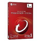 【旧商品】ウイルスバスター クラウド 1年版 PKG