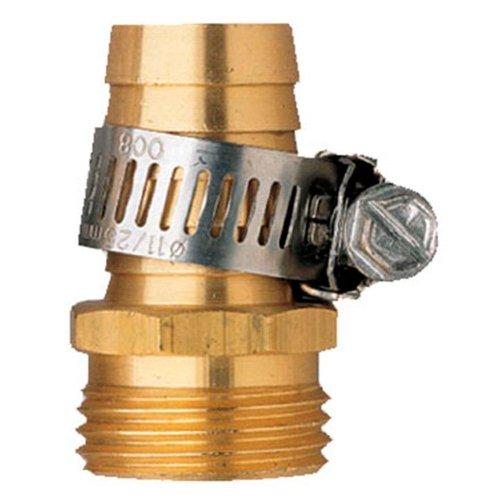 100 Pack - Orbit Male Aluminum Water Hose Repair Kit with Hose Clamp - 5/8 Inch