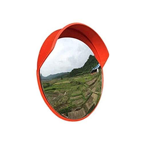 XHZESC Espejo de estacionamiento cóncavo de 60 cm, Adecuado para Espejo Convexo Interior y Exterior Espejo de tráfico Convexo portátil Duradero (Color: A, tamaño: 60 cm)