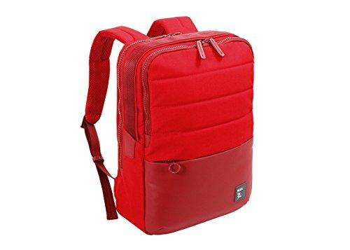 NAVA Zaino Porta pc 15.6' e Porta Tablet Colore Rosso