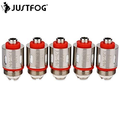 Justfog Q16, P16A, P16 Resistenze di ricambio coil (1,2 Ohm) 100% Originali da VENDITORE ITALIANO senza nicotina