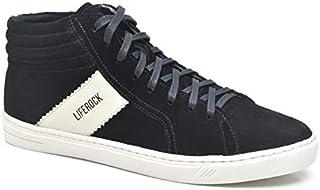 c9914821f8 Sapatênis Masculino em Couro LifeRock LR98008-1 Azul