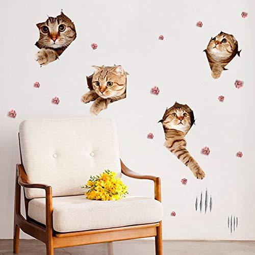 Wandkunst Dekoration Vinyl Wandplakate Kinder Jungen Mädchen Zimmer Dekor abnehmbare Dusche Zimmer Glasfliesen Aufkleber