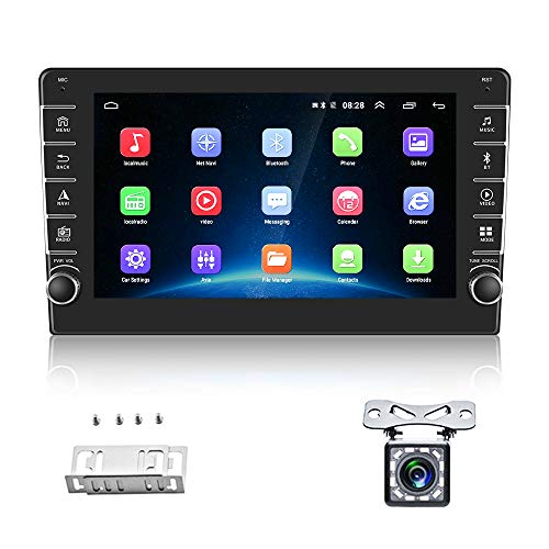 """AMPrime Double Din Car Stereo Radio with Bluetooth 8.0"""" HD 1080P Touch Screen..."""