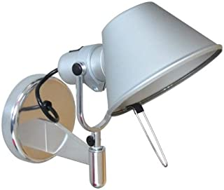 Artemide Tolomeo Faretto - Lámpara de pared (E27, aluminio anodizado)