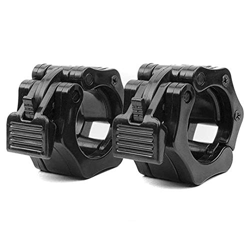 SODIAL Olympic Size Barbell Collar Locks 1 inch Bar Clamp Weight Lifting Quick Release Lock Jaw, 1 Pair