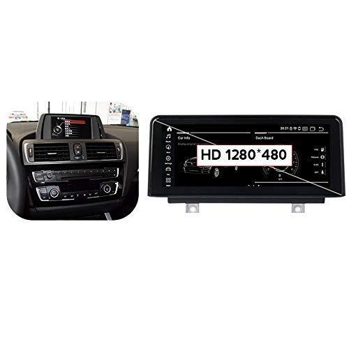 Android 10.0 Autoradio Radio 2 DIN SAT NAV per BMW 1 Serie F20/F21 2013-2017 Navigazione GPS Touch Screen da 10,25 Pollici Lettore multimediale Ricevitore Video con 4G DSP Carplay