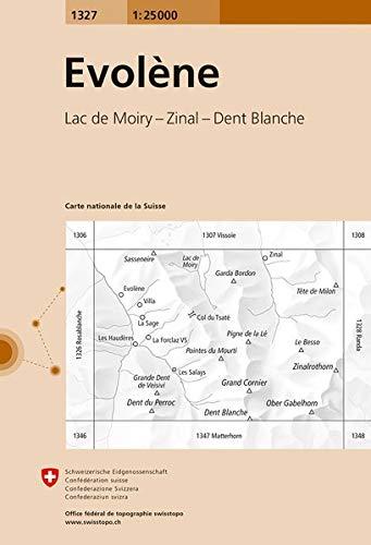 Carte de randonnée : Evolène PDF Books