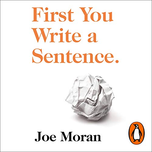Page de couverture de First You Write a Sentence.