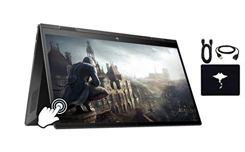 2020 HP Envy x360 2in1 Laptop 15.6' FHD Touch-Screen, AMD Ryzen 5 4500U Six-core(Beat i5-9300H, up to 4GHz), 16GB RAM, 512GB PCIe SSD, Backlit Keyboard, Fingerprint Reader, Win10, w/GM Accessories
