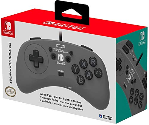 [Switch] Hori Nintendo Switch Fighting Commander - $34 at Amazon