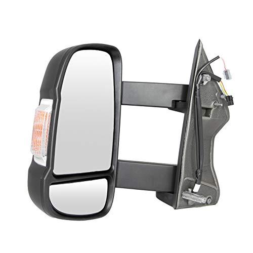 Außenspiegel links Fahrerseite elektrisch verstellbar Temperatursensor langer Spiegelarm Wohnmobil 735620753