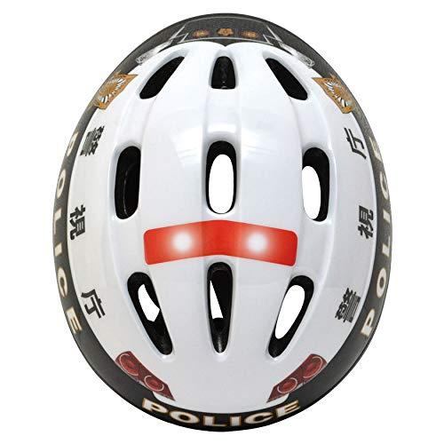 Kanack(カナック)キッズヘルメット[警視庁パトカーヘルメット]SG規格適合品3歳~8歳自転車キックバイク