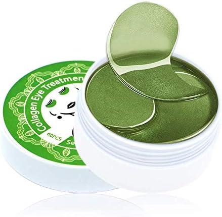 Under Eye Patches 24K Gold Repair Black Pearl Brighten Green Tea Moisturizing Collagen Under product image