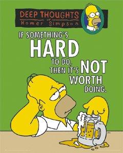 Die Simpsons–OMER–Bier–40x 50cm Kunstdruck/Poster