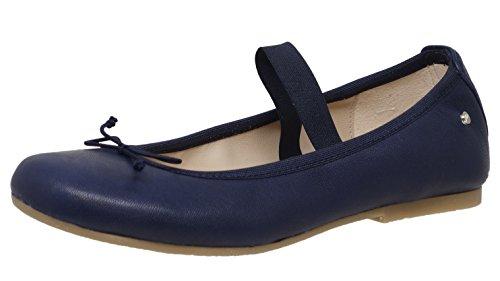 Manuela de Juan S2537, Ballerines pour Fille - Bleu - Blau (Navy Creta), 36 EU