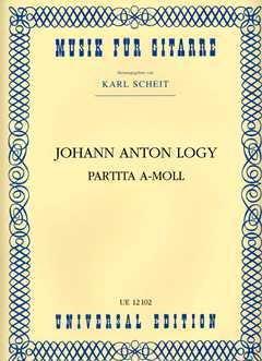 PARTITA A-MOLL - arrangiert für Gitarre [Noten / Sheetmusic] Komponist: LOGY JOHANN ANTON