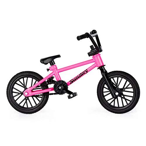 Tech Deck BMX Finger Bike Series 12, Sunday Pink Tech Deck Bike with Moveable Tech Deck Parts