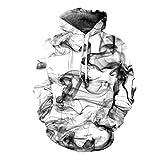 Print - Sudadera con capucha para hombre Blanco blanco XL