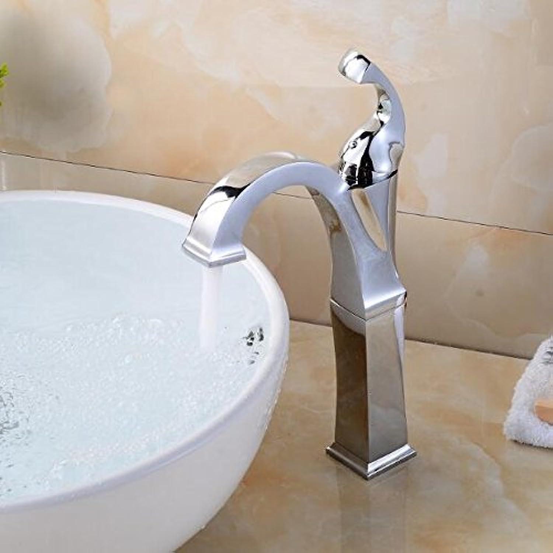 Retro Deluxe Fauceting neue Ankunft Hochwertige Waschbecken wasserhahn Messing bad Armatur chrom fertige Single Level Waschbecken wasserhahn Wasser Waschbecken Wasserhahn tippen