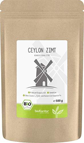 BIO Ceylon Zimt - fein gemahlen - 100% Bio - bioKontor - 500g