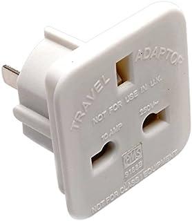 Merriway BH04211 Travel Plug Adaptor (UK to USA, China, Canada, Mexico, Japan, Thailand, Vietnam, Australia and More) - Pa...