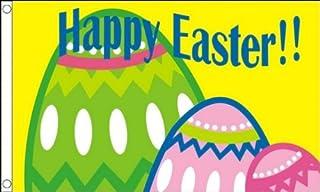 Happy Easter Flag 3' x 5' - Happy Easter Flags 90 x 150 cm - Banner 3x5 ft - AZ FLAG