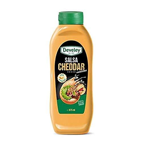 Squeezer salsa cheddar Develey ml 875